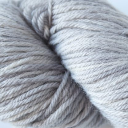 Silver Charm hand dyed merino yarn close up