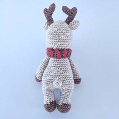 Rudolph Reindeer Softie Tail View