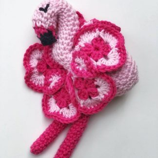 Soft toy flamingo